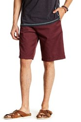 Burnside Chino Short Red