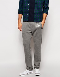 Abercrombie And Fitch Sweat Joggers With Football Print Lightgrey