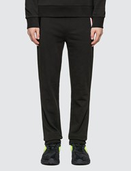 Moncler Zip Detail Sweatpants Black