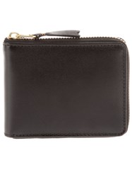 Comme Des Garcons Comme Des Gara Ons Wallet Leather Coin Purse Black