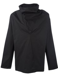 Damir Doma Oversized Roll Neck Sweater Black