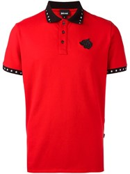 Just Cavalli Embroidered Logo Polo Shirt