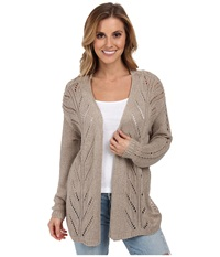 O'neill Morgan Caridgan Sweater Taupe Women's Sweater