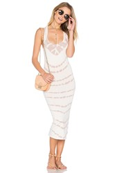 Young Fabulous And Broke Denny Dress Ivory