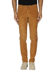 Monocrom Casual Pants Brown