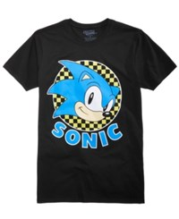 Freeze 24 7 Sonic Graphic T Shirt Black