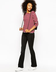 Monki Flared Trousers Black