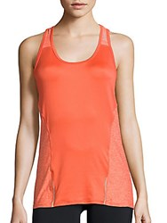 Reebok Accelerate Performance Tank Top Hot Coral