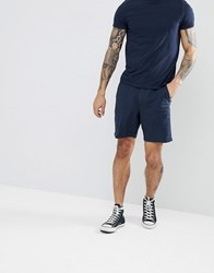 Hollister Prep Core Chino Shorts In Navy