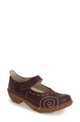 Women's El Naturalista 'Yggdrasil' Leather Mary Jane Flat 1 3 4' Heel