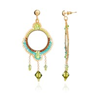 Azuni London Bonita Crystal Chandelier Earrings In Sacred
