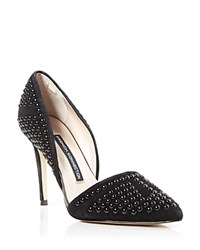 French Connection Pumps Ellis Studded Pointed Toe Black