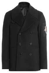 Alexander Mcqueen Virgin Wool Jacket Black