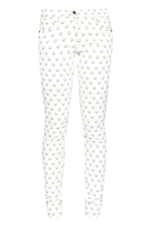 Great Plains Get Lucky Printed Jeans White