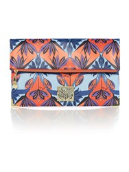 Biba Oversized Foldover Pouch Multi Coloured Multi Coloured