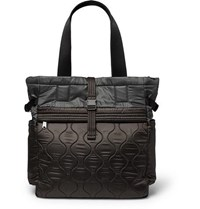 Paul Smith Quilted Nylon Tote Bag Dark Gray