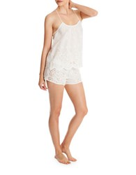 In Bloom Capistrano Cami And Shorts Set Ivory