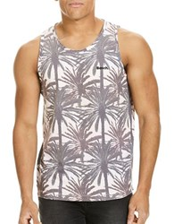 Bench Allover Printed Tank Top Black