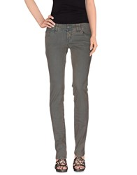 Galliano Denim Denim Trousers Women Deep Jade