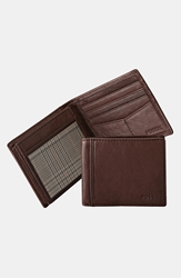 Fossil 'Ingram' Traveler Wallet Brown