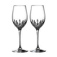 Waterford Lismore Essence White Wine Glasses Set Of 2