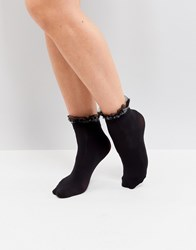 Jonathan Aston Shadow Ankle Sock Black