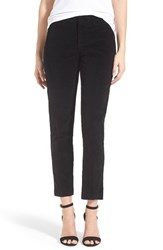Petite Women's Nydj 'Corynna' Slim Stretch Cotton Ankle Pants