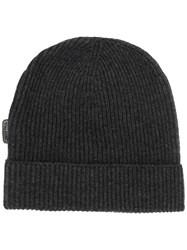 Tom Ford Ribbed Cashmere Beanie Grey