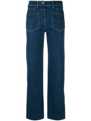 Christian Wijnants Pina Jeans Blue
