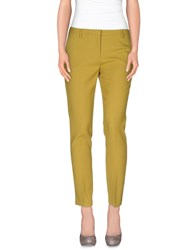 True Royal Trousers Casual Trousers Women Acid Green