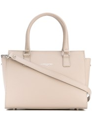 Lancaster Adele Tote Women Calf Leather One Size Nude Neutrals