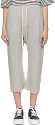 R 13 R13 Grey Field Sweatpants