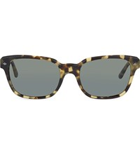 Emporio Armani Ar8067 Rectangle Sunglasses Green