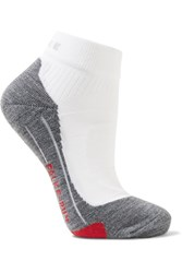 Falke Ergonomic Sport System Ru4 Knitted Socks White