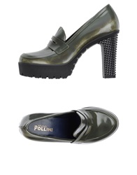 Studio Pollini Moccasins Military Green
