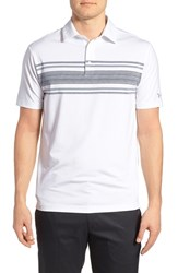 Men's Under Armour 'Playoff' Short Sleeve Polo White