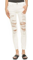 R 13 The Relaxed Skinny Jeans Atom Tan
