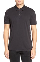 Velvet By Graham And Spencer Men's Bryant Jersey Polo Exhaust