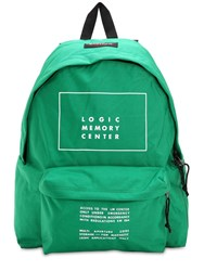 Undercover Eastpak Printed Canvas Backpack Green