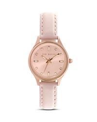 Ted Baker Charm Leather Watch 32Mm