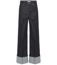 J.W.Anderson High Rise Wide Leg Jeans Blue
