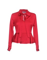Twenty Easy By Kaos Blouses Red