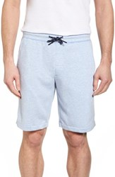 Surfside Supply Two Tone Terry Shorts Blue Heather