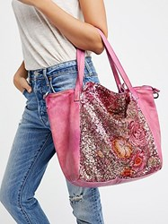 Free People Gardenia Washed Tote By