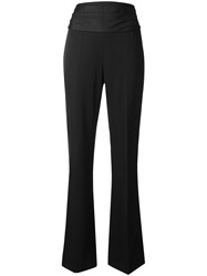 Moschino High Waisted Trousers Black
