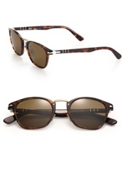 Persol 49Mm Square Sunglasses Havana