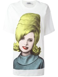 Jeremy Scott Woman Print T Shirt White