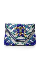Antik Batik Margot Clutch Indigo