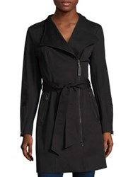 Mackage Belted Trench Coat Black