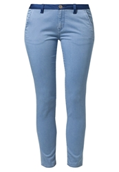 Maggie Chinos Medium Light Bleached Denim